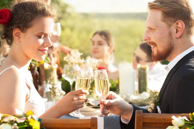 結婚祝いにおすすめのシャンパン