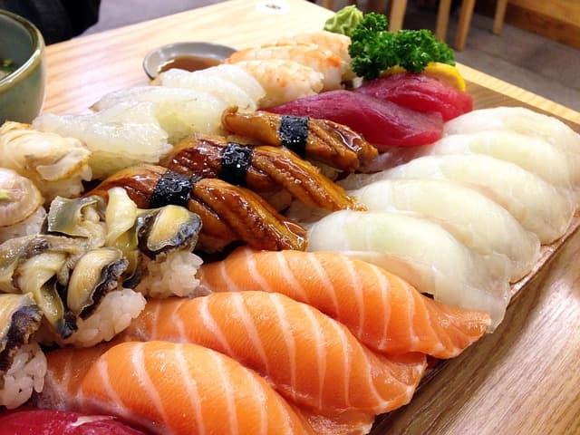 シュナン・ブランのワインに寿司が合う