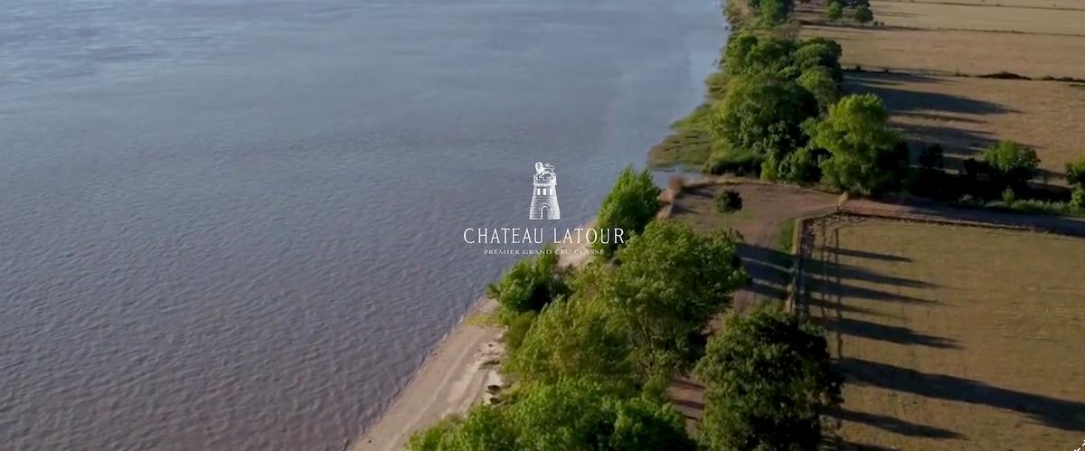 シャトー・ラトゥールの地形